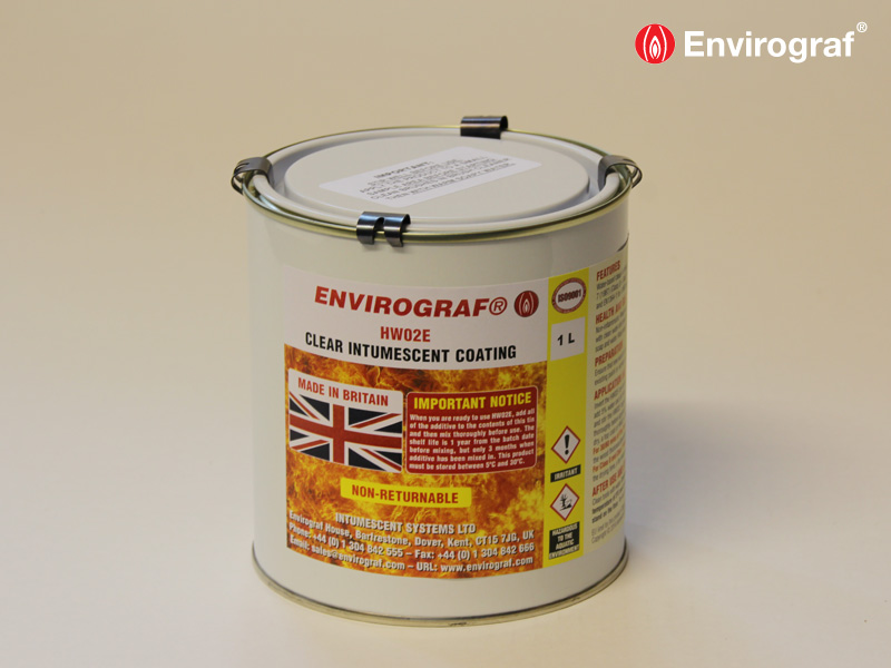 Intumescent Paint And Varnishes For Wood Etc Envirograf