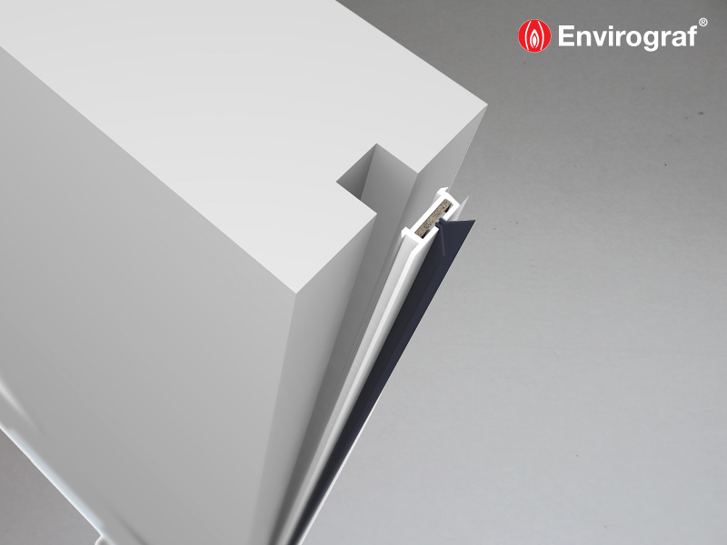 The Push Fit Door Seal Envirograf