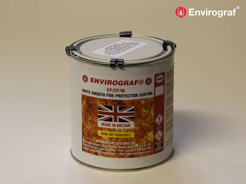 Fire resistant paint for upgrading plasterboard