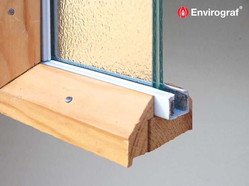 Intumescent Glazing Channels Envirograf