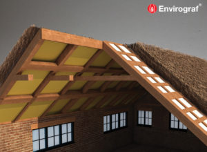 Thatch roof fire protection