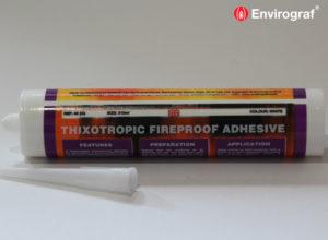 Acrylic thixotropic adhesive