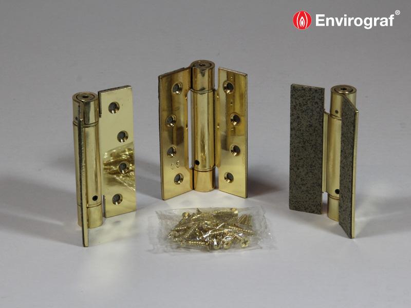 Hinge, lock and door closer protection - Envirograf