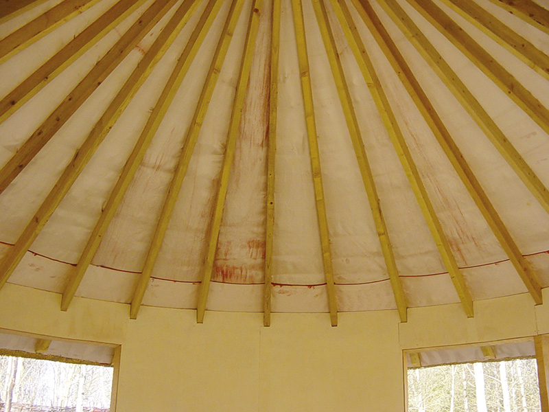Below Thatch Roof Fire Protection Envirograf