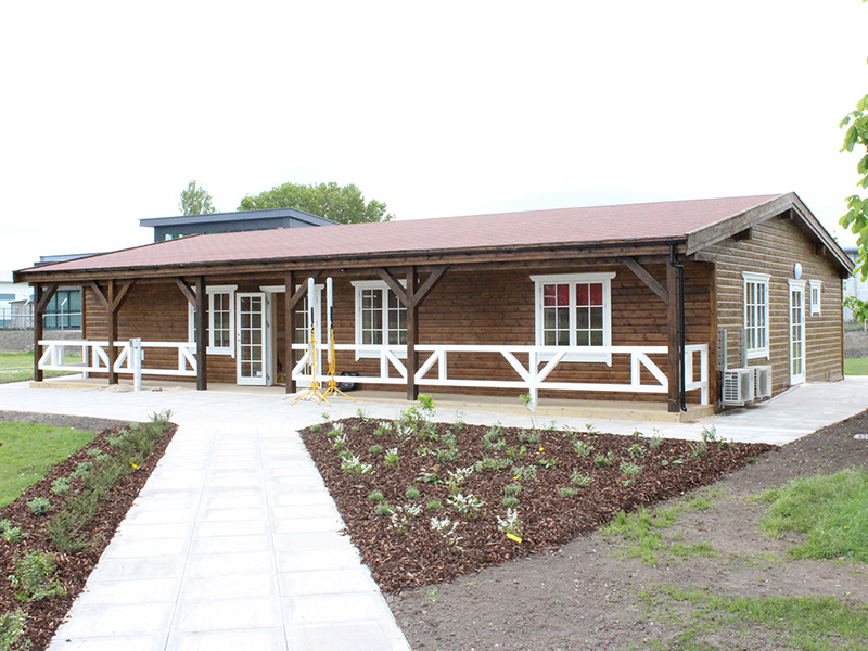 Aldershot pavilion