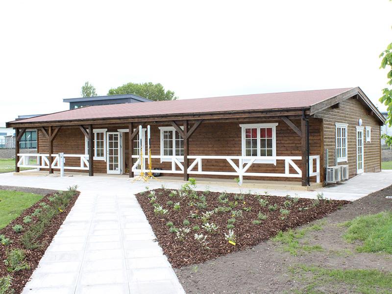new aldershot garrison fa academy pavilion