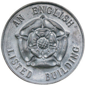 Listed Property Owners' Club Plaque - England